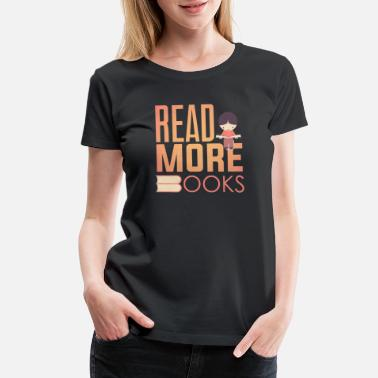 Member Book worm product Read More Cool Gifts For - Women's Premium T-Shirt