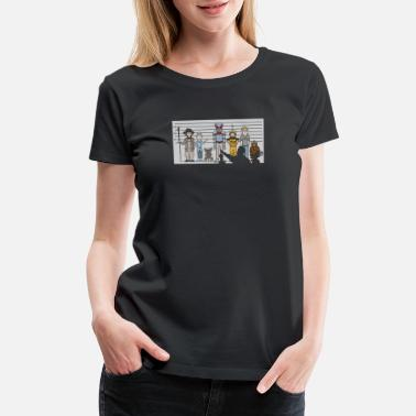 Mystery Science Theater The Unusual Suspects - Women's Premium T-Shirt