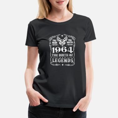 1964 Gto 1964 - 1964 the birth of the legends awesome tee - Women's Premium T-Shirt