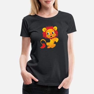 Isolated isolated lion - Women's Premium T-Shirt