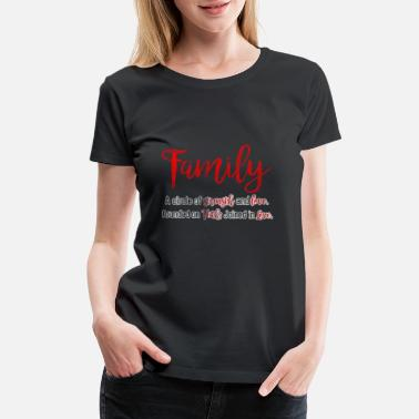 Family Values Family Values - Women's Premium T-Shirt