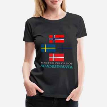 Scandinavia UNITED COLORS OF SCANDINAVIA - Women's Premium T-Shirt