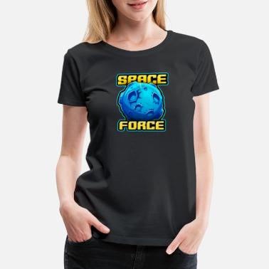 Planet Mercury Space Force Parody Spoof T-Shirt - Women's Premium T-Shirt