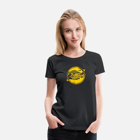 Carbon T-Shirts - New Design Carbon Freezing Best Seller - Women's Premium T-Shirt black