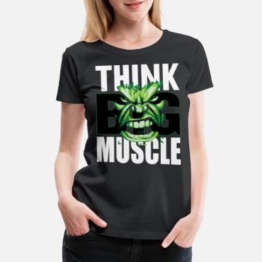 Biceps Funny Motivation Fitness Bodybuilding - Women's Premium T-Shirt