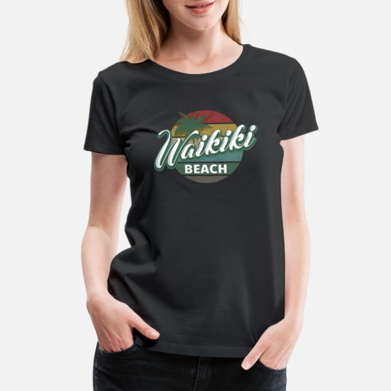 cfe39231b1 Shop Waikiki Beach T-Shirts online | Spreadshirt
