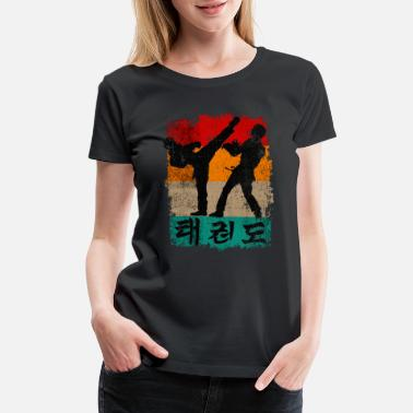 Korean Taekwondo Martial Arts Gift - Women's Premium T-Shirt