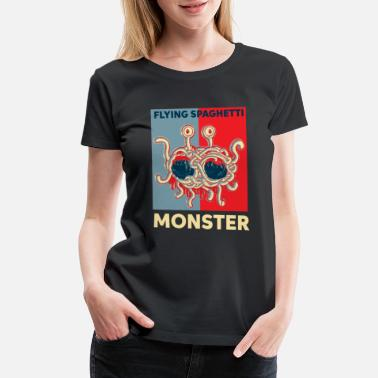 Spaghetti Monster Flying spaghetti Monster FSM - Women's Premium T-Shirt