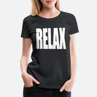 Dope 80s RELAX HOLLYWOOD BAND 80s JUMPER TEE SWAG DOPE TUMB - Women's Premium T-Shirt
