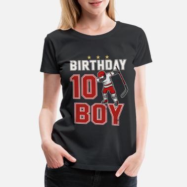 10 Year Old Dabbing Hockey Player 10th BDay
