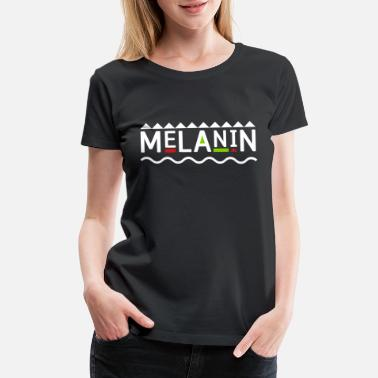 Demand Melanin - Women's Premium T-Shirt