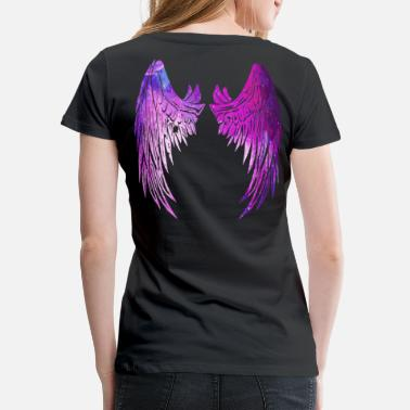 Angelwings Pink Wings Fluegeln Angel wings 2reborn - Women's Premium T-Shirt