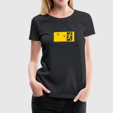 Emergency exit drones - Women's Premium T-Shirt