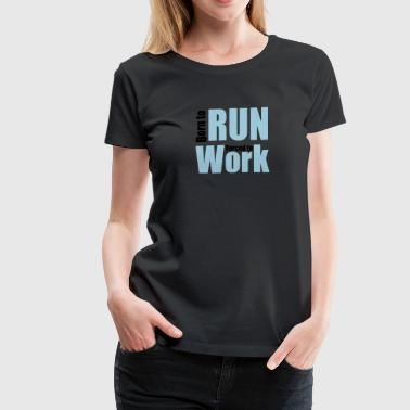 running - Women's Premium T-Shirt