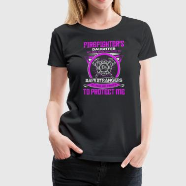 Firefighter protect Daughter - Women's Premium T-Shirt