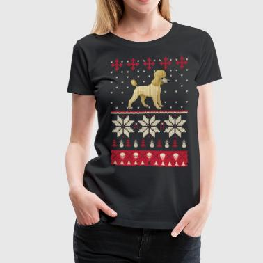 Best Christmas Gift Shirts Ever For Poodle Lover - Women's Premium T-Shirt