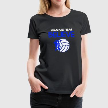 Volleyball Shirts - Women's Premium T-Shirt