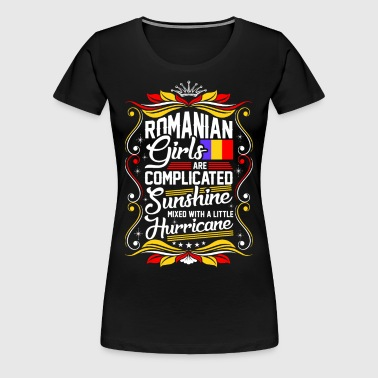 Romanian Girls Are Completed Sunshine - Women's Premium T-Shirt