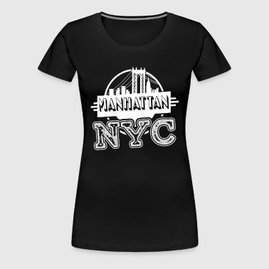 Manhattan New York Shirt - Women's Premium T-Shirt