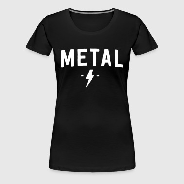 Metal Rock - Women's Premium T-Shirt