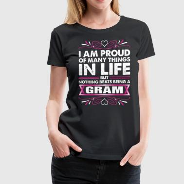 I Am Proud Gram - Women's Premium T-Shirt