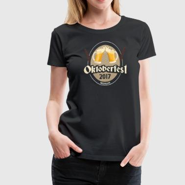 2017 Oktoberfest - Michigan - Women's Premium T-Shirt