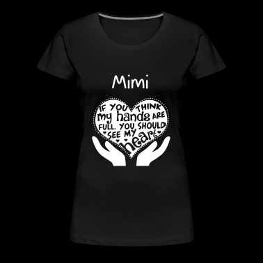 Mimi - You should see my heart - Women's Premium T-Shirt