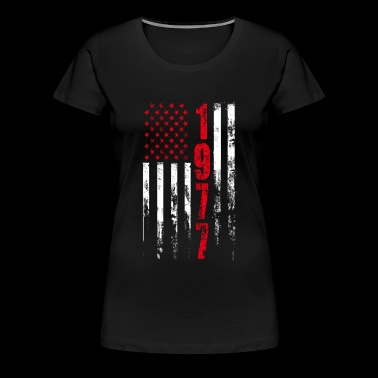 1977 - t-shirt for american who was born in 197 - Women's Premium T-Shirt