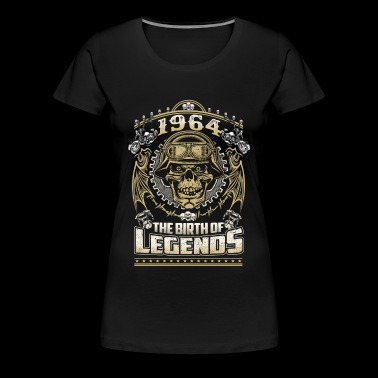 1964 - 1964 the birth of the legends awesome tee - Women's Premium T-Shirt