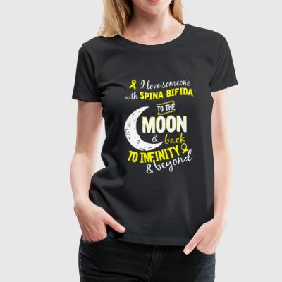 Someone with Spina bifida - To infinity & beyond - Women's Premium T-Shirt