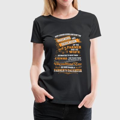 Farmer's daughter - Gift of unconditional love - Women's Premium T-Shirt