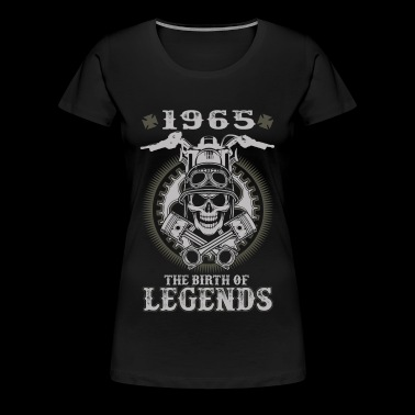 1965 biker - The birth of legends awesome tee - Women's Premium T-Shirt