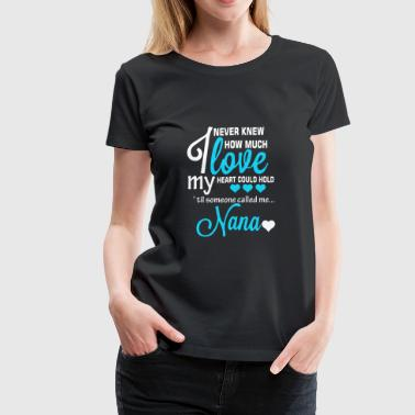 Great grandma - I never knew how much I love - Women's Premium T-Shirt
