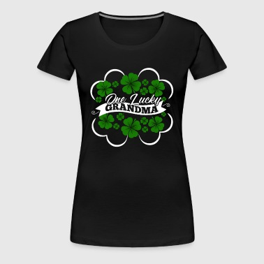 One Lucky Grandma - Women's Premium T-Shirt