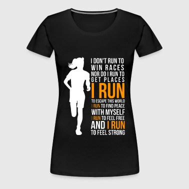 Run - Women's Premium T-Shirt