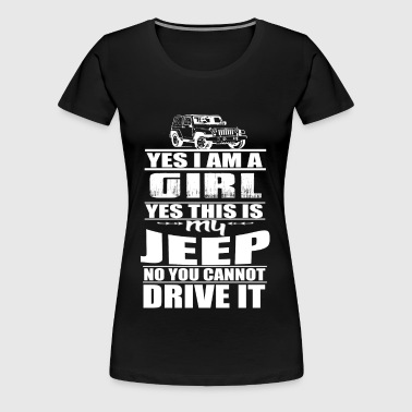 THIS IS MY JEEP - JEEP GIRL Offroad - Women's Premium T-Shirt