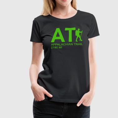 Appalachian Trail AT Hiker - Women's Premium T-Shirt