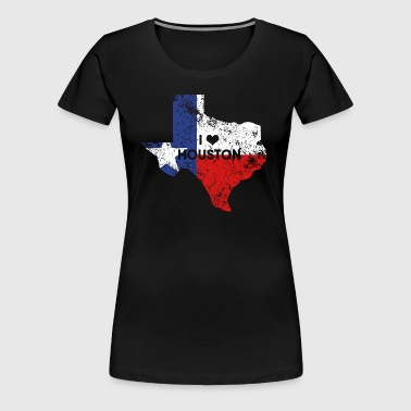 I love Houston - Women's Premium T-Shirt