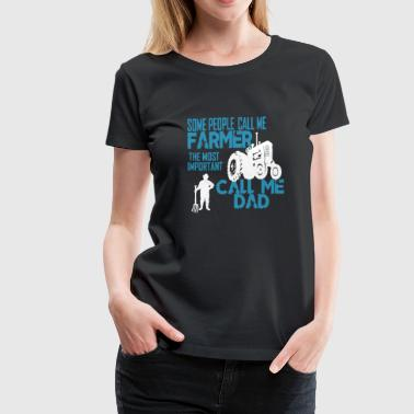 Farmer Dad T Shirt - Women's Premium T-Shirt