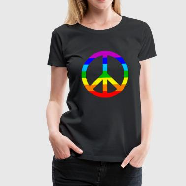 Peace in the world - Women's Premium T-Shirt