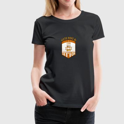 Conbeersation - Women's Premium T-Shirt