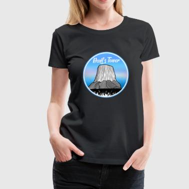 Devil's Tower - Women's Premium T-Shirt