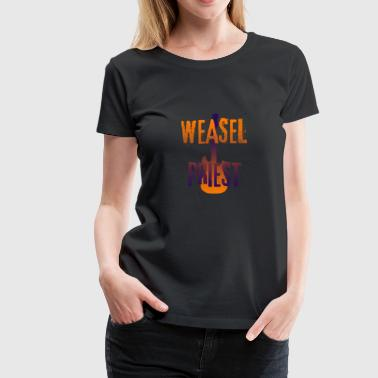 Weasel Priest Gradient Design - Women's Premium T-Shirt