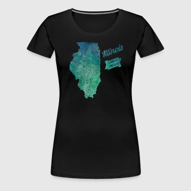 Illinois - Women's Premium T-Shirt