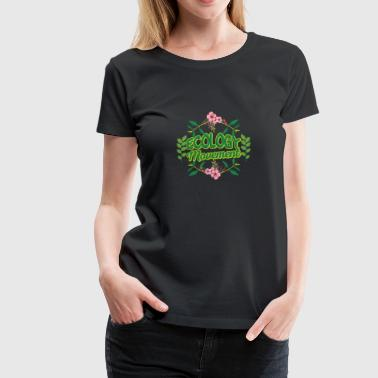 Earth Day Ecology Movement - Women's Premium T-Shirt