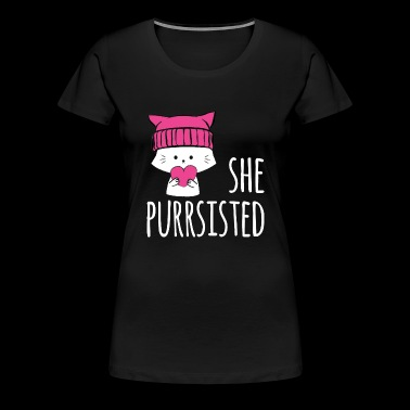 Nevertheless, She Persisted / Persisted. - Women's Premium T-Shirt