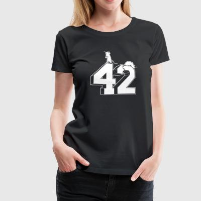 Forty Two - Women's Premium T-Shirt