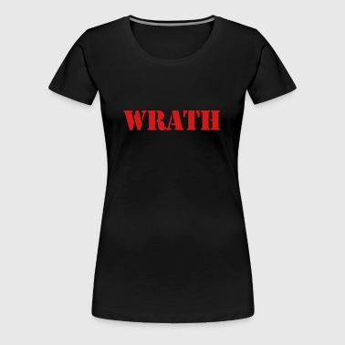 WRATH - Women's Premium T-Shirt
