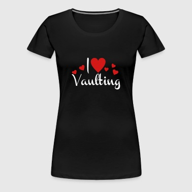 vaulting - Women's Premium T-Shirt