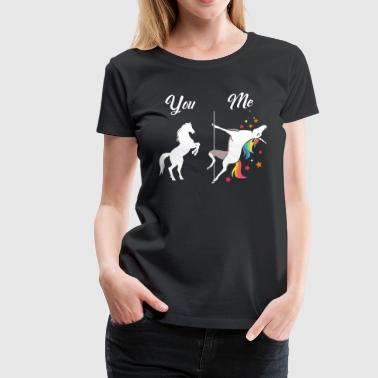 Unicorn You and Me - Women's Premium T-Shirt
